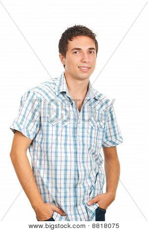 Smiling Casual Man
