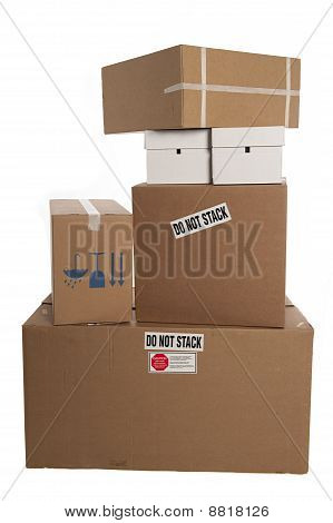 Do Not Stack Boxes