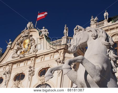 Vienna - Detail Of Belvedere