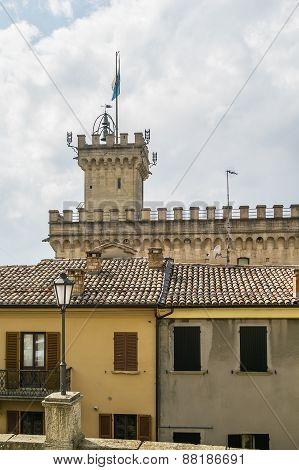 Tower Of Palazzo Pubblico, San Marino