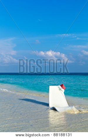 Beach Relax On A Christmas