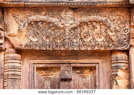 Banteay Srey temple, Cambodia.