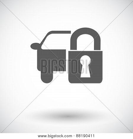 Locking car doors