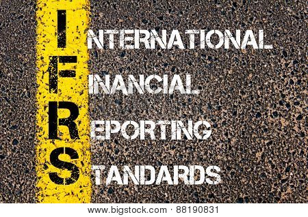 Business Acronym Ifrs - International Financial Reporting Standard