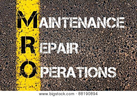 Business Acronym Mro - Maintenance, Repair, And Operations