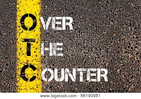 Business Acronym Otc - Over The Counter