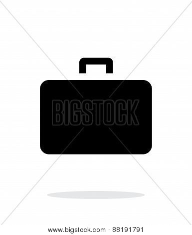 Case simple icon on white background.
