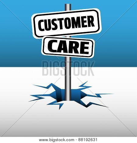 Customer care signpost