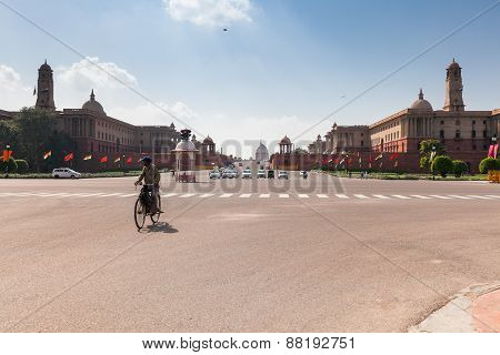 Delhi Government buildings, India