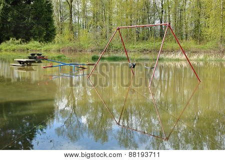 Playground Spring Flooding