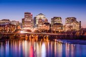 stock photo of virginia  - Rosslyn - JPG