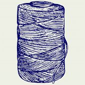 image of hasp  - Roll of twine cord - JPG