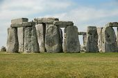 stock photo of stonehenge  - Stonehenge is a prehistoric monument located in Wiltshire - JPG