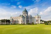 stock photo of royal palace  - The Ananta Samakhom Throne Hall  - JPG