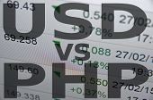 picture of pesos  - US dollar versus Philippine peso  - JPG