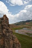 foto of assis  - Highland plateau Assy on the territory of Kazakhstan - JPG