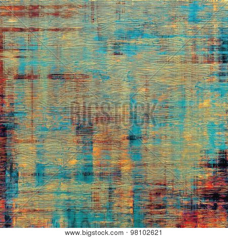 Abstract grunge background. With different color patterns: yellow (beige); brown; blue; purple (violet)