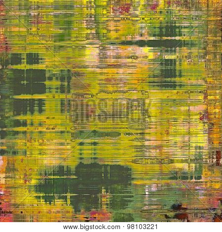 Grunge background or texture for your design. With different color patterns: yellow (beige); brown; purple (violet); green