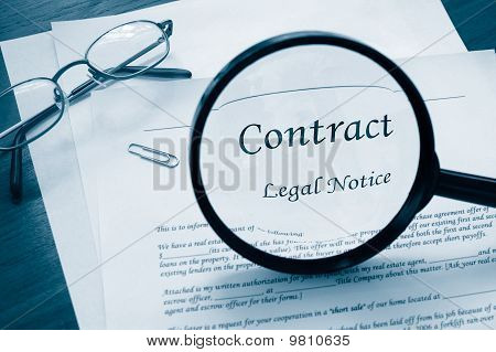 Legal Contract look