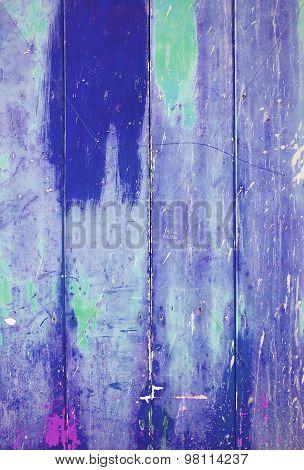 Blue colorful vintage background