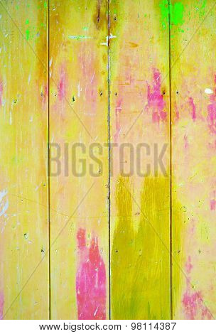 Yellow colorful vintage background