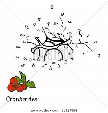 Numbers Game: Fruits And Vegetables (cranberries)
