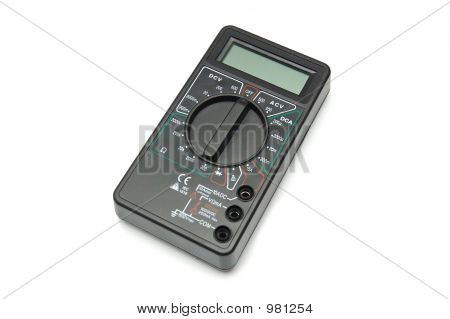 Black Digital Multimeter Photo