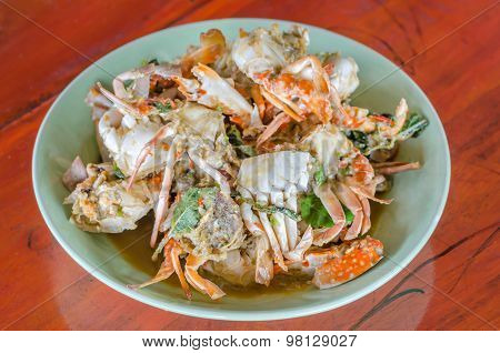 Stir Fried Crab