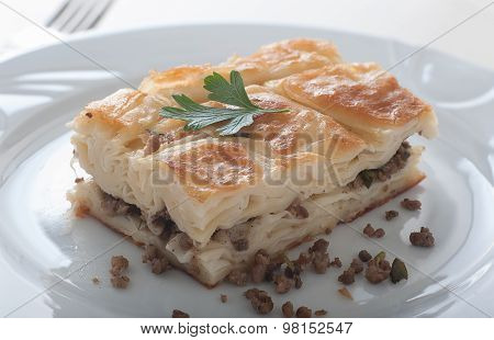 Turkish Borek - Su Boregi