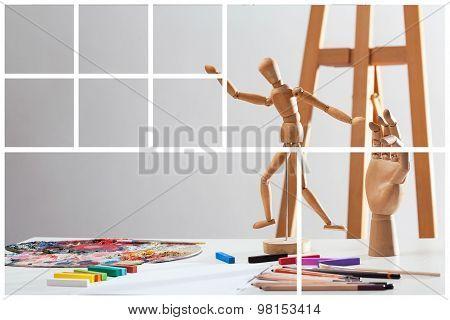 Talented Artist's Studio