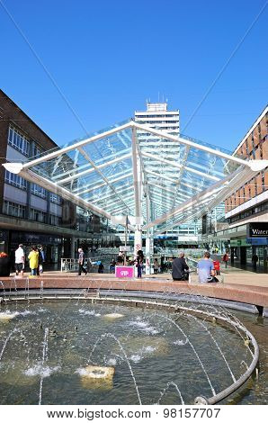 Lower Precinct Shopping Centre, Coventry.