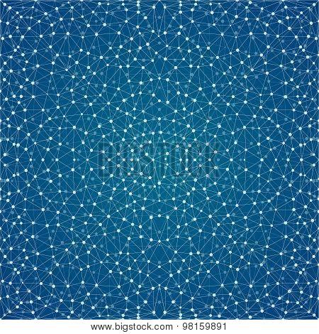 Starry night seamless pattern