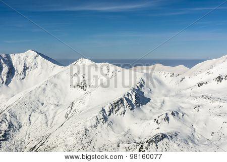 Winter Landscape Of Western Tatras