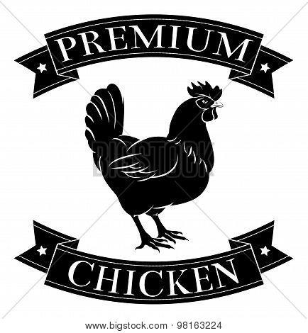 Premium Chicken Label