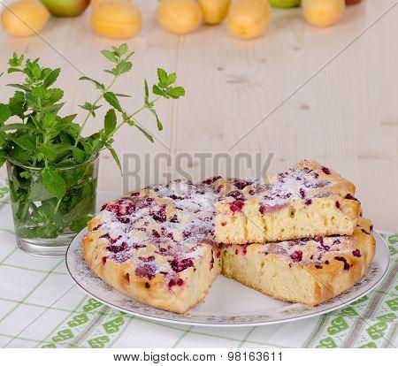 Berry Pie,  Cake With Fruit