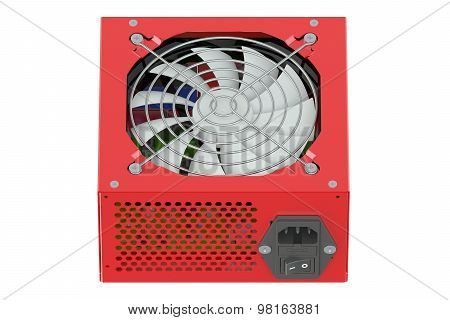Red Power Supply Unit
