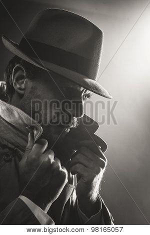 Film Noir Detective Portrait
