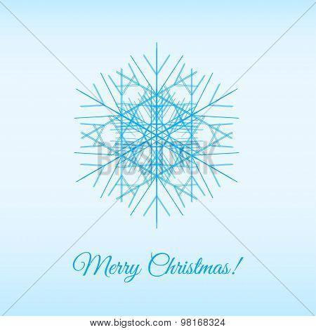 Fractal Vector Snowflake