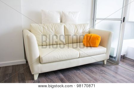 Sofa In The Living Room