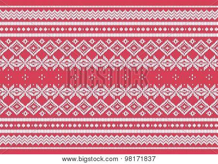 Silk Cloth Pink Pattern