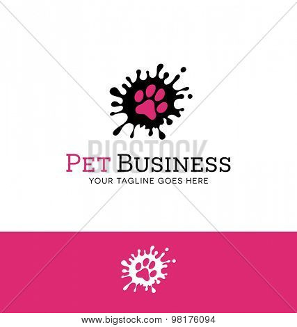Logo design for pet related business or website about pets