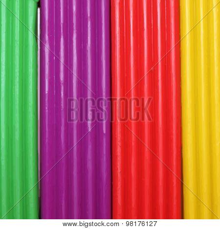 Colorful plasticine background