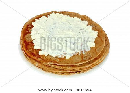 Salted Pancake With Cheese