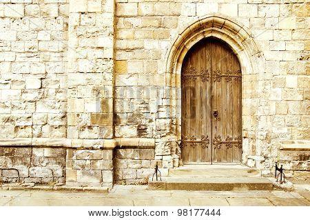 Old Gothic Door.