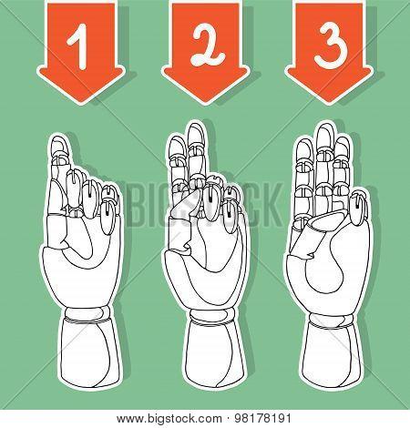 wooden hands 3