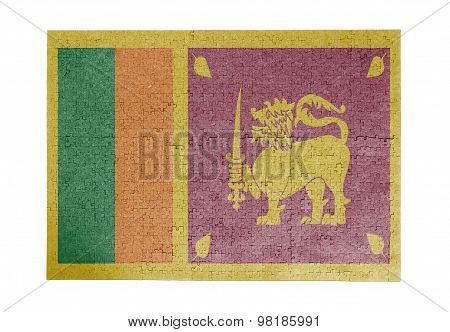 Large Jigsaw Puzzle Of 1000 Pieces - Sri Lanka