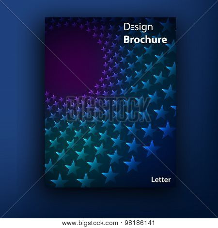 Vector brochure  booklet cover design templates collection A4