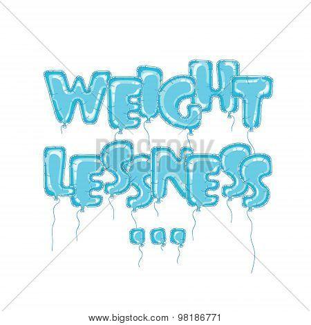 Balloons weightlessness