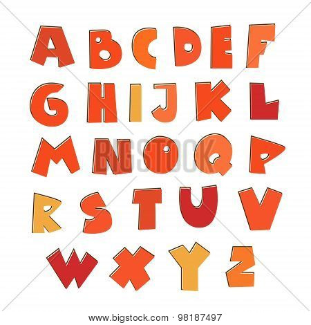 alphabet - font - Illustration