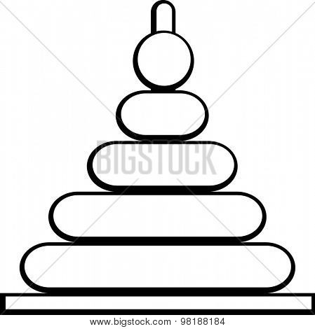 stacking rings toy